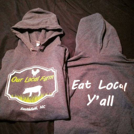 Eat Local Y'all Hoodie